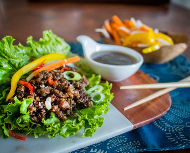 Image of Wagyu Beef Lettuce Wrap